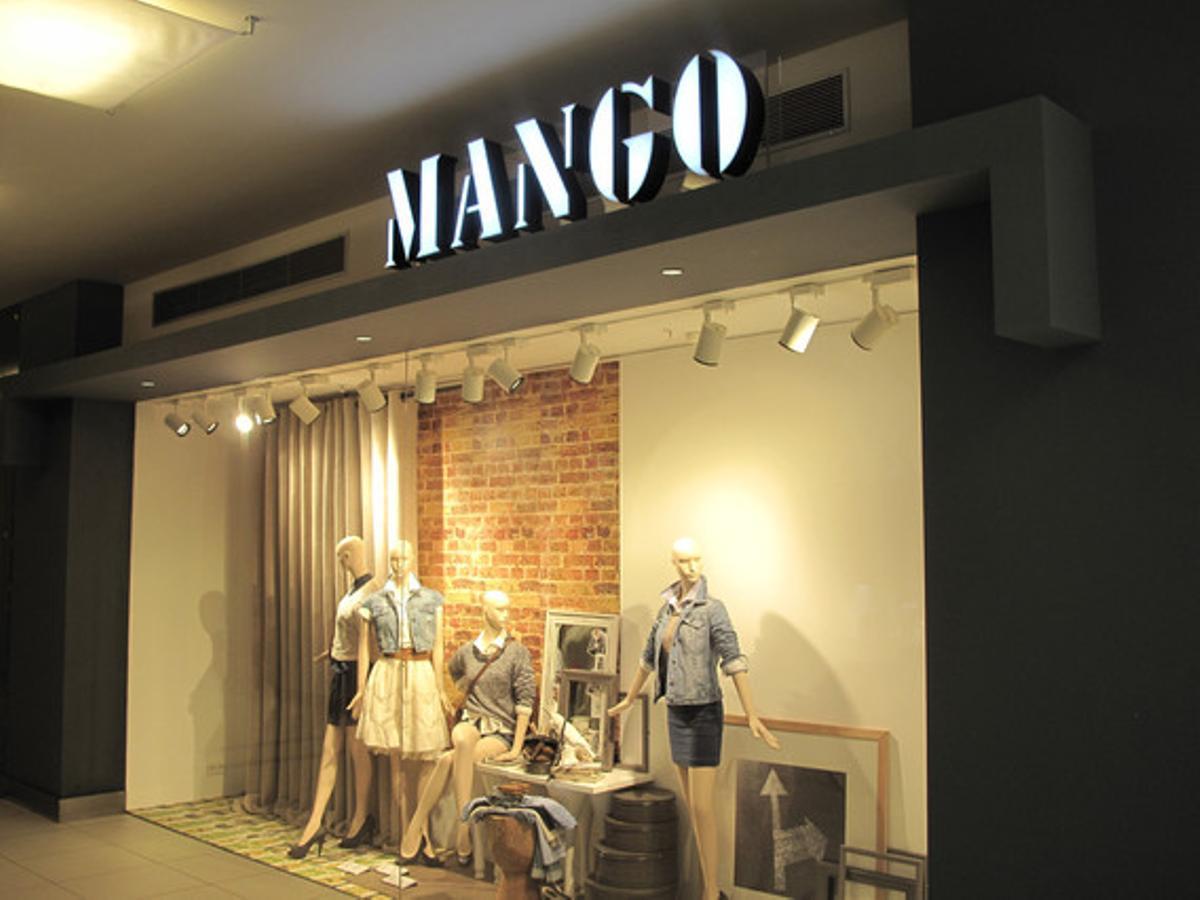 Botiga de Mango a Alemanya.
