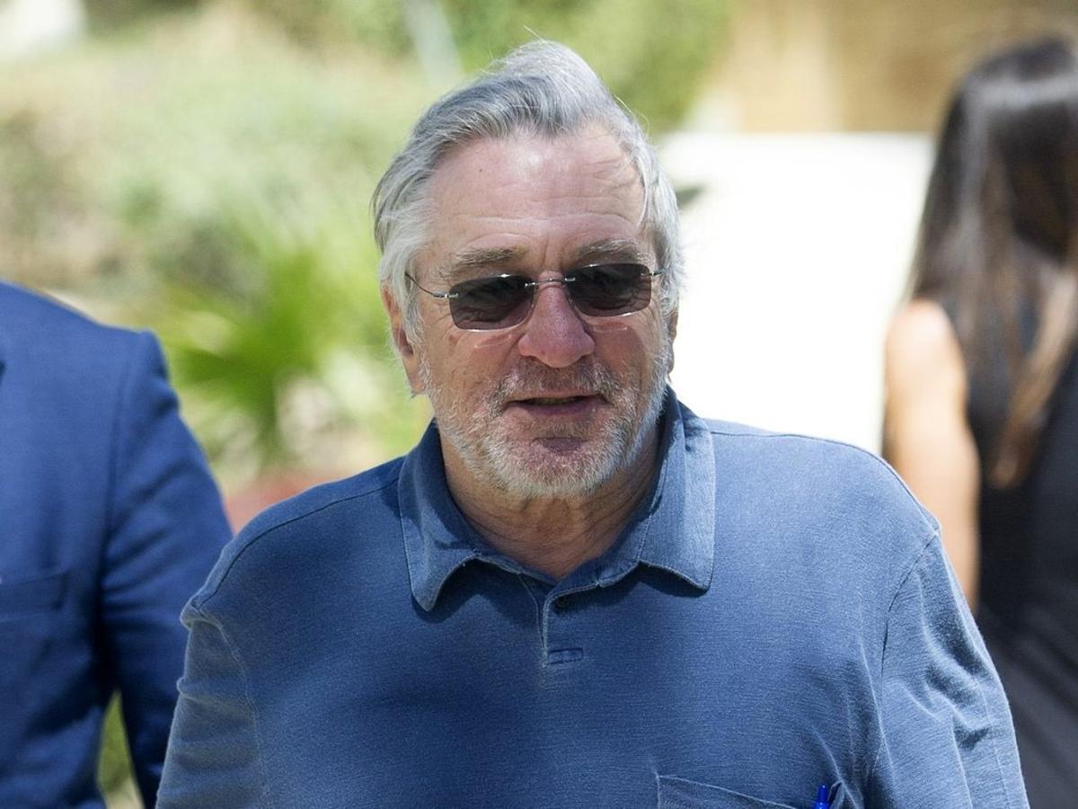 Robert de Niro, en Marbella, en mayo del 2018.
