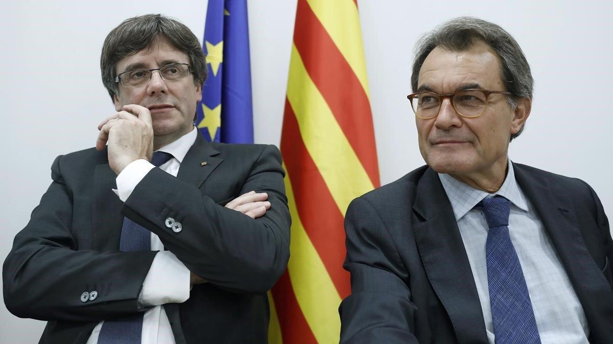 Mas estará en Perpinyà en apoyo de Puigdemont