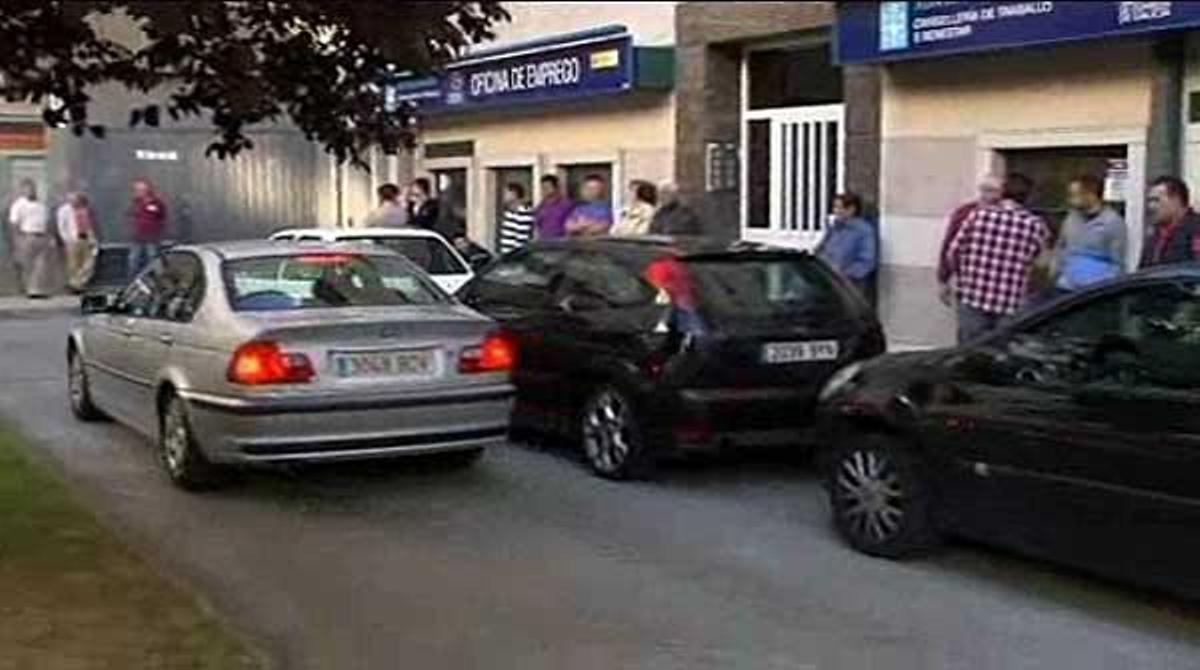 Españaregistra 53.000 desempleados más que el trimestre anterior.