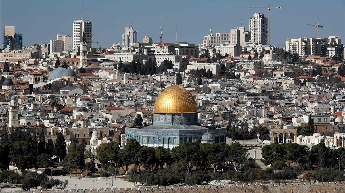 Vista de Jerusalén.