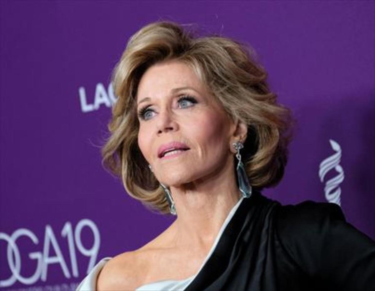 La actriz Jane Fonda