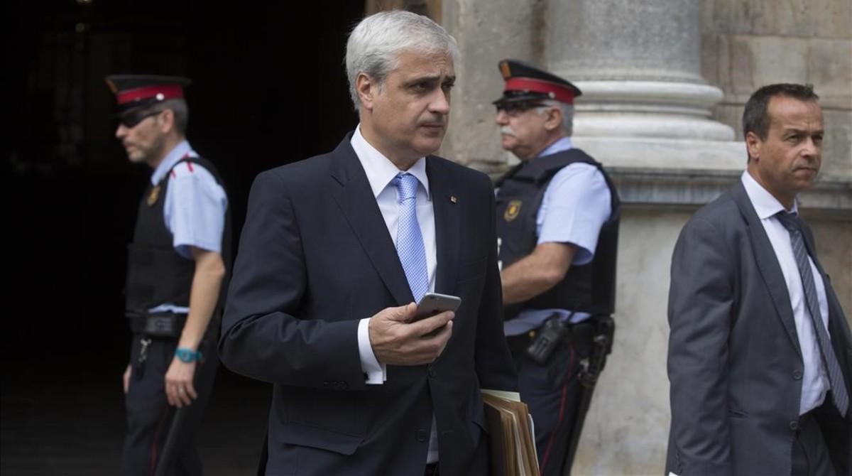 El 'exconseller' Germà Gordó, en una imagen del 2015.
