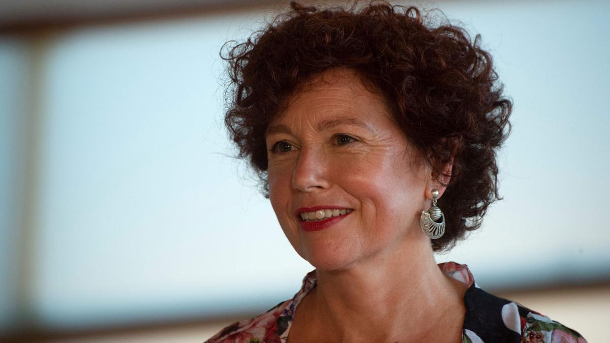 La realizadora Iciar Bollaín este sábado en el Festival de San Sebastián.