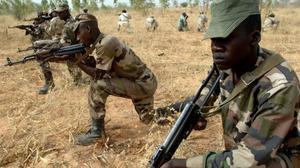 Militares africanos en una imagen de archivo.