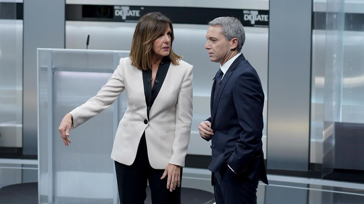 La diatriba de Ana Blanco a los candidatos del debate: Hablarán de paridad, pero no hay ninguna candidata