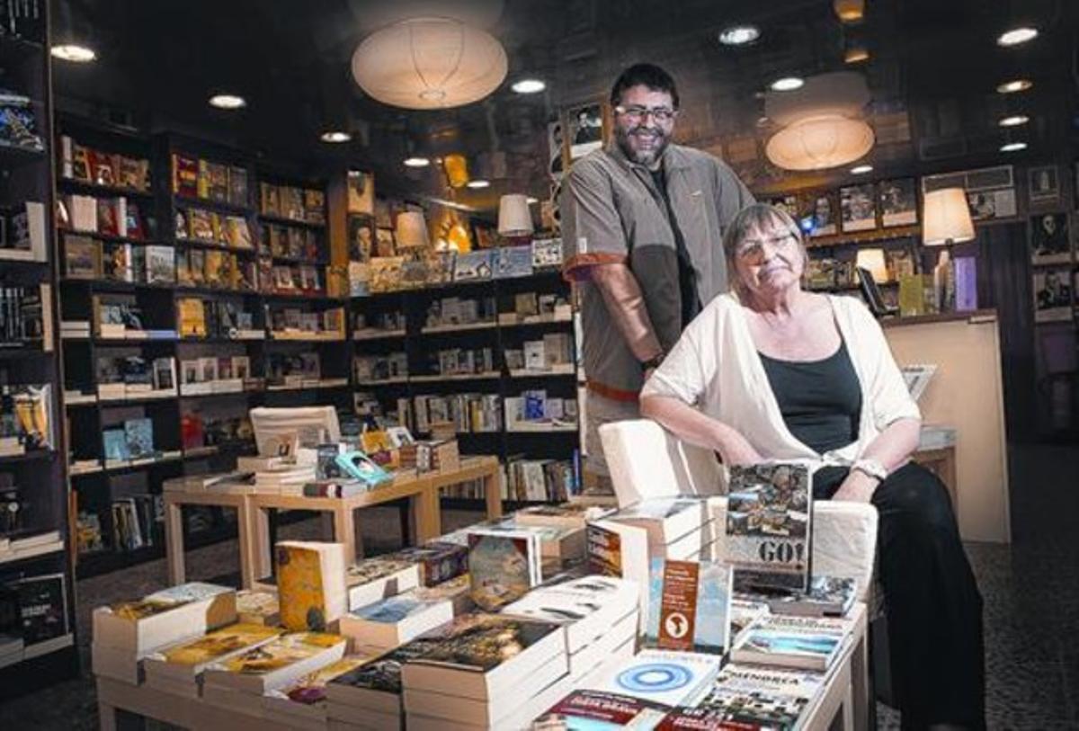 """Xon Pagès y Àlex Lerís: """"Ser una librería de barrio está muy bien"""""""