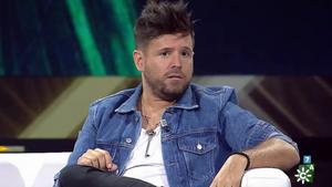 Pablo López durante su visita a 'El show de Bertín'.