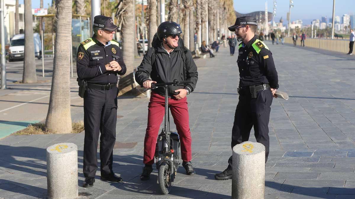 El patinete eléctrico acumula 3.000 multas en Barcelona en 2018