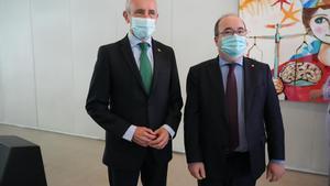 Josu Erkoreka y Miquel Iceta.