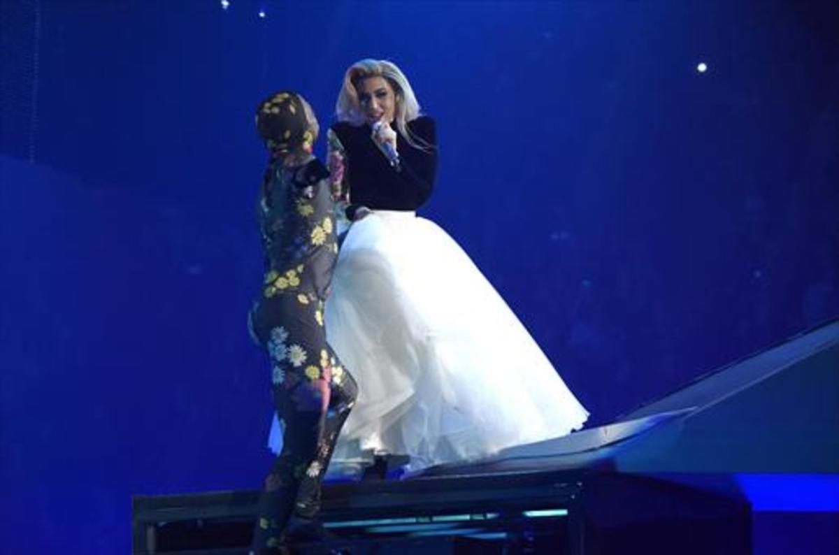 Lady Gaga, en concierto.