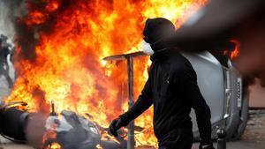 Disturbis al Primer de Maig a París
