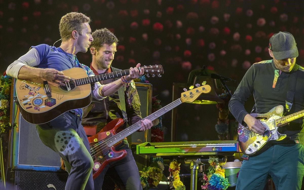Labanda británica Coldplay.