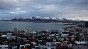 Vista panorámica de Reikjavik, la capital de Islandia.
