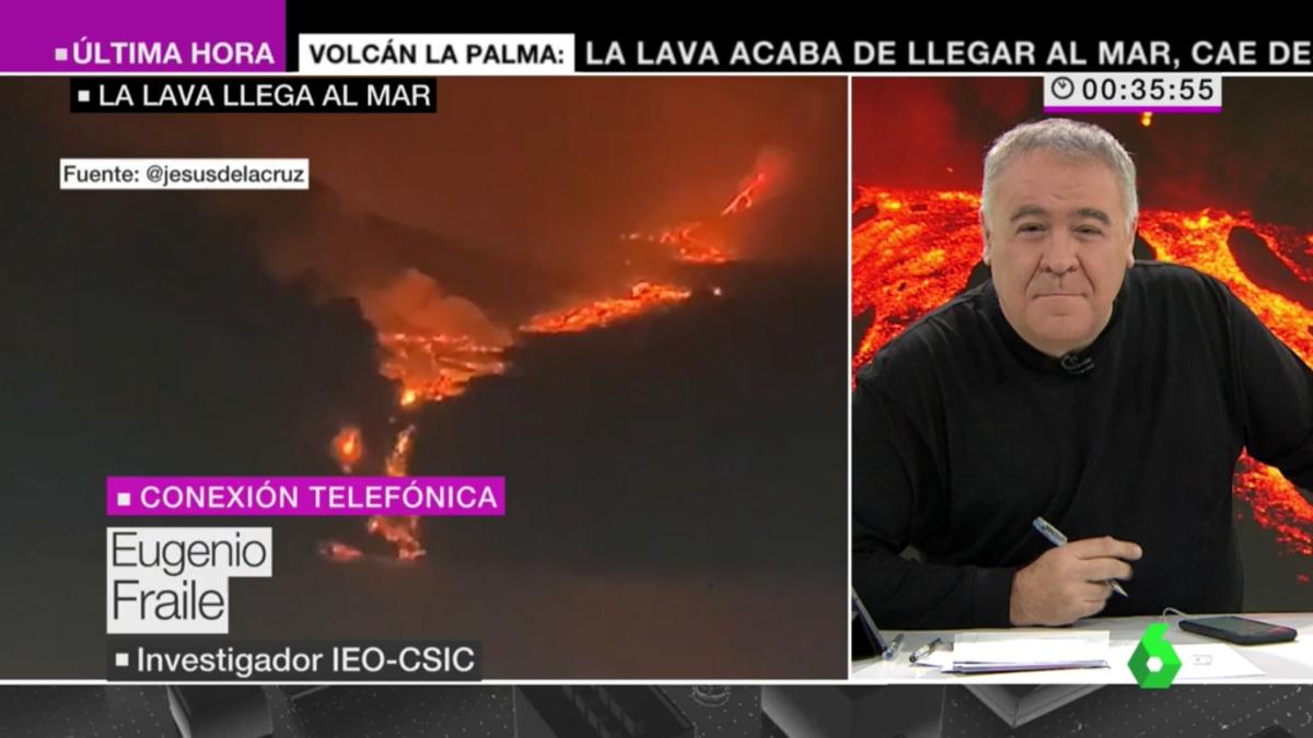 Antonio García Ferreras en el especial de laSexta Noticias