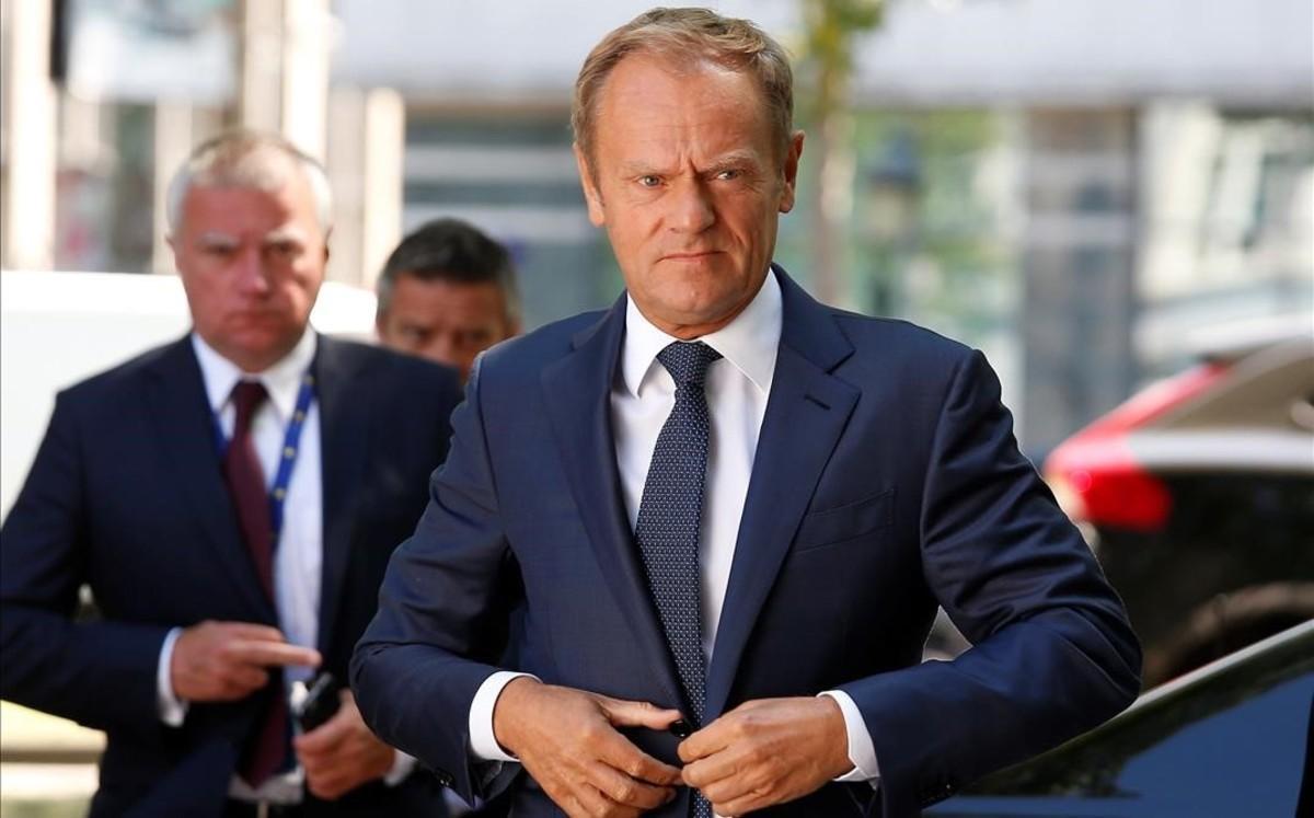 El presidente del Consejo Europeo, Donald Tusk.