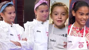 Nina, Gina, Inés y Luna, expulsadas en la gala 3 de 'Masterchef Junior 8'