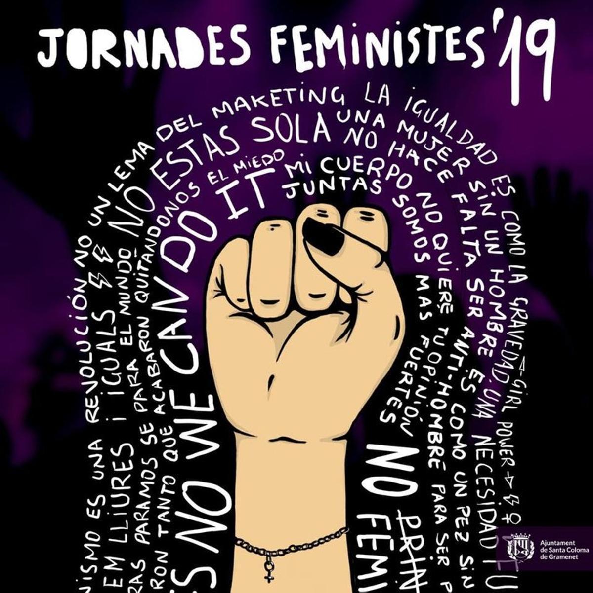 Cartel de las Jornadas Feministas 2019.