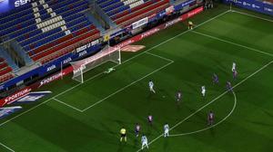 Partido Eibar-Real Sociedad, el pasado 10 de marzo, que ya se tuvo que jugar a puerta cerrada por la amenaza del coronavirus.