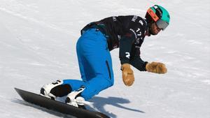 Lucas Eguibar guanya l'última prova de la Copa del Món de 'snowboardcros'