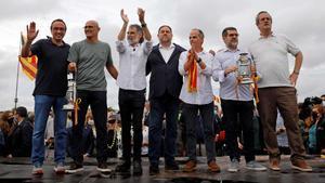 Enquesta: el 61% dels catalans recolzen els indults als presos del procés