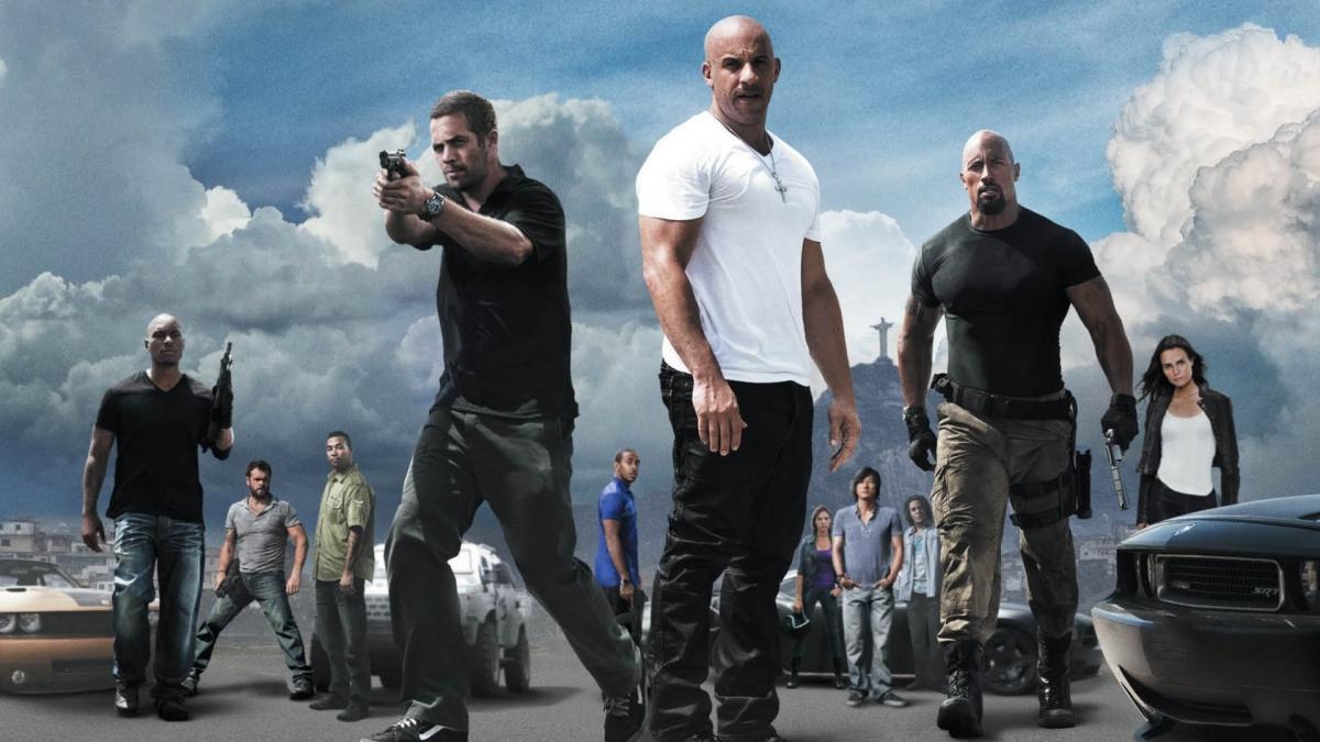 Escena del 'Fast & Furious 5'