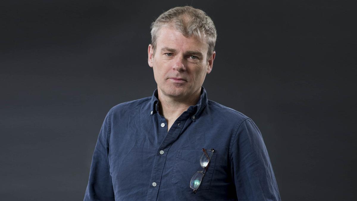 El escritor británico Mark Haddon.