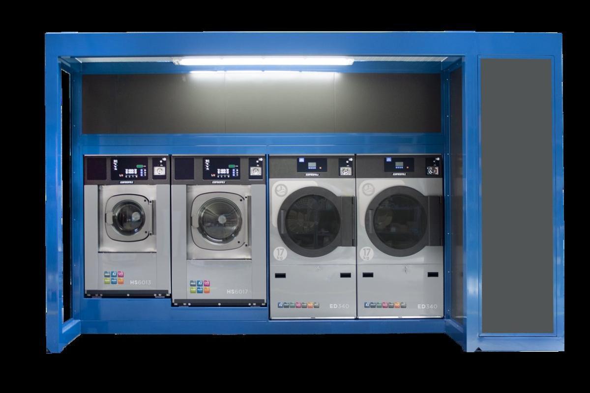 Las lavadoras de Girbau.