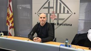 El concejal de Presidencia de Barcelona, Eloi Badia.