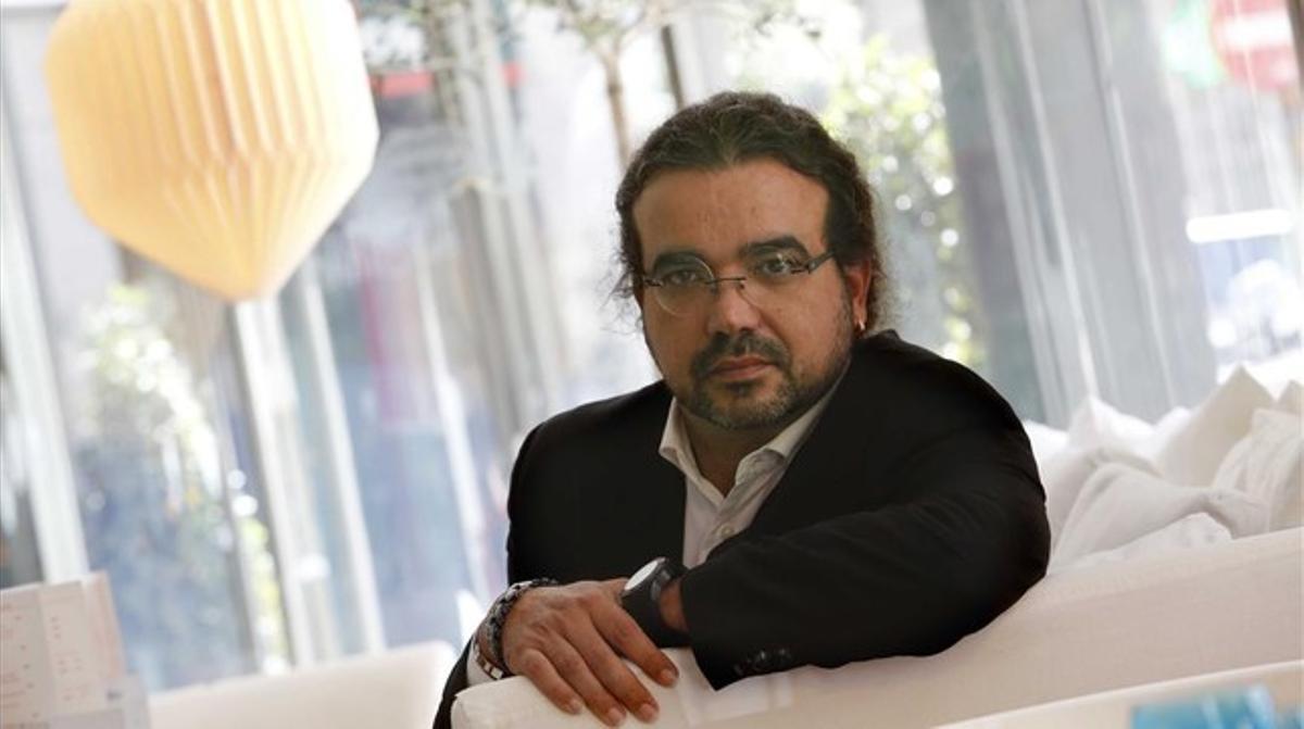 El escritor Juanjo Braulio, en Madrid, el pasado septiembre.
