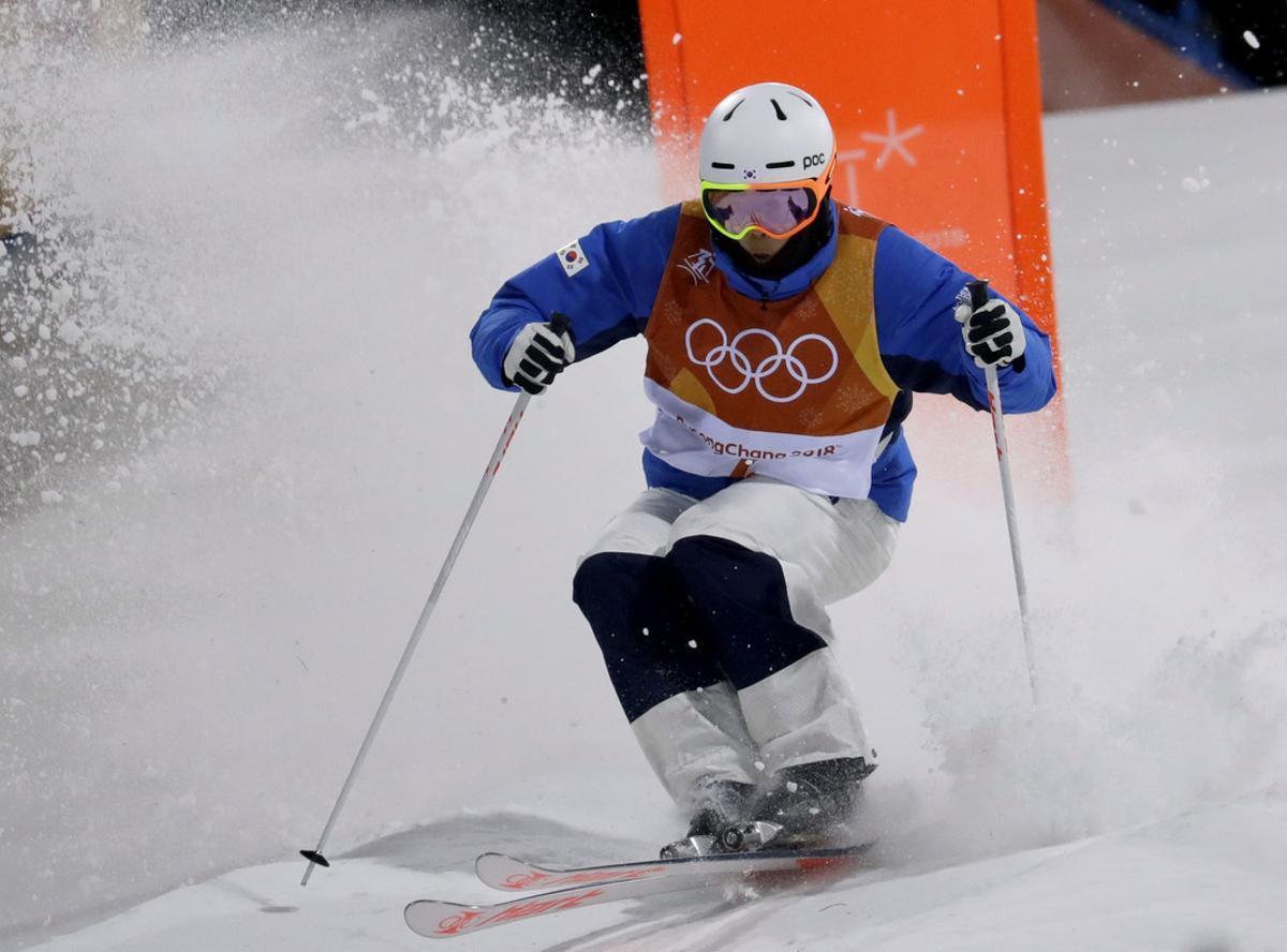 Choi Jae-woo, durante los Juegos, es uno de los esquiadores suspendidos.