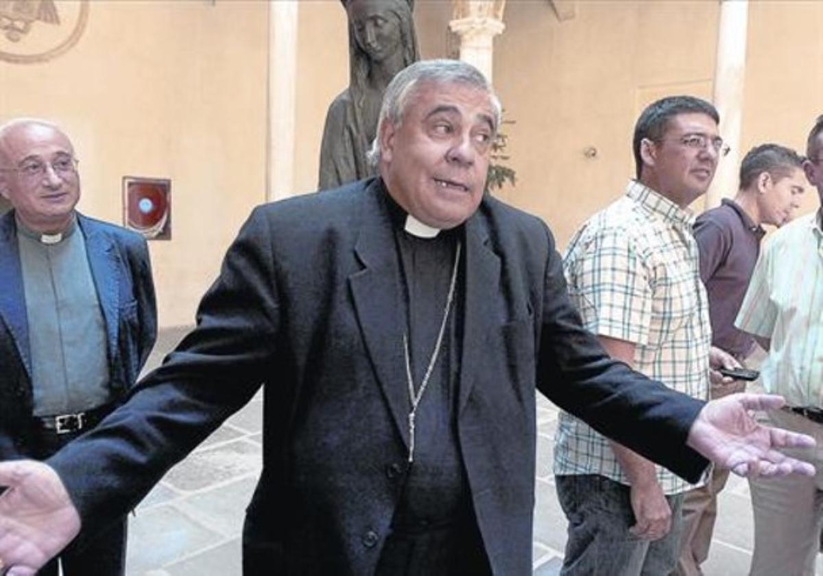 El arzobispo de Granada, Francisco Javier Martínez, en una foto de archivo.