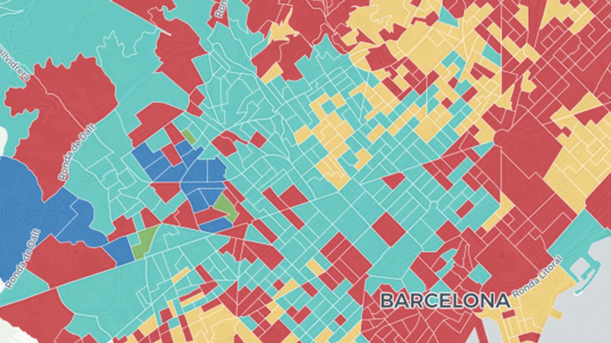 ¿Qué ha votado tu vecino de Barcelona en las elecciones catalanas 2021? Los resultados, calle a calle
