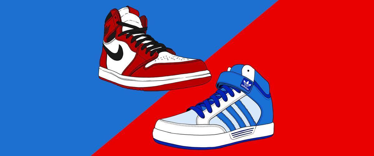 Nike y Adidas, una rivalidad eterna