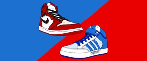 Nike i Adidas, una rivalitat eterna