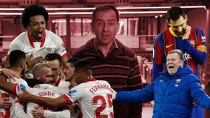 La diferencia estuvo en la defensa. Marcos López analiza el Sevilla-Barça.