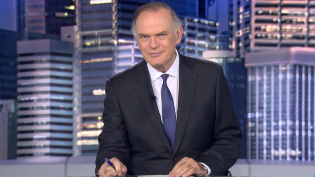 Pedro Piqueras en 'Informativos Telecinco'