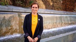 La candidata a la presidencia de la Comunidad de Madrid y coordinadora general deMás Madrid, Mónica García