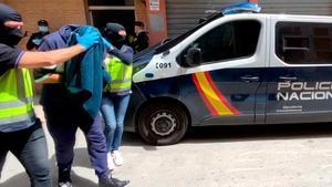 Policía Nacional detiene, en Almeria, a uno de los grupos terroristas más buscados de Europa.