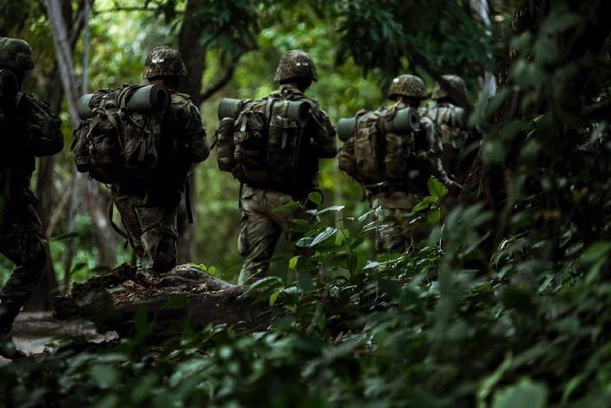 Militares del Ejército de Colombia.
