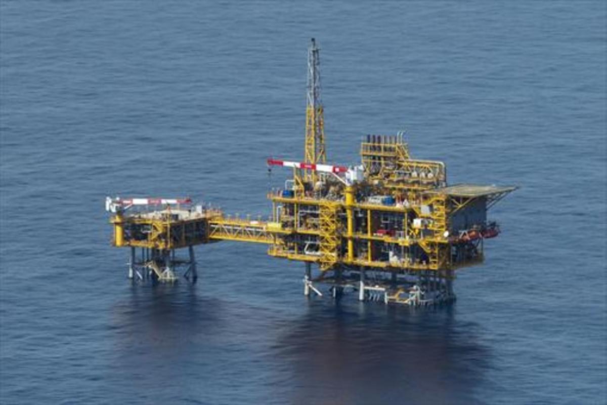 La plataforma Castor, en una imagen tomada en octubre del 2013.