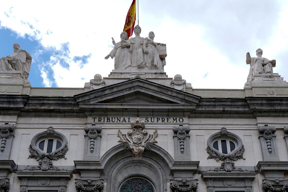 MADRID 11-05-2021POLITICAFachada del edificio del Tribunal Supremo. Imagen DAVID CASTRO