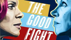 Cartel oficial de la quinta temporada de 'The good fight'