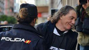 Sito Miñanco llega al juicio por blanqueo en la Audiencia de Pontevedra en 2019.