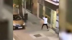Enfrentamiento a tiros entre bandas rivales en Ciudad Lineal, Madrid.