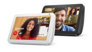 Amazon Echo Show 8, con pantalla de 8 pulgadas.