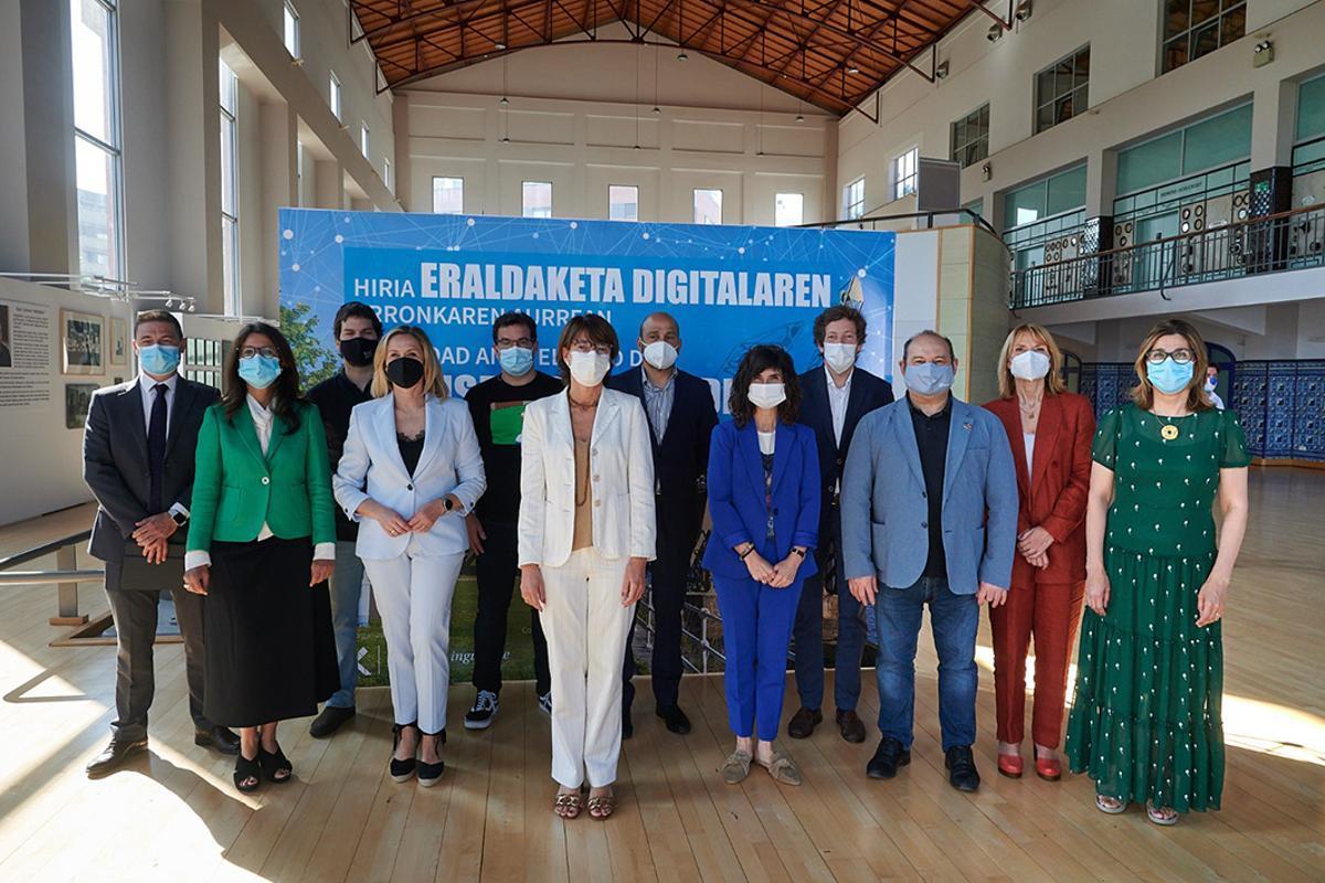 Sant Boi participa en una jornada sobre transformació digital a Barakaldo