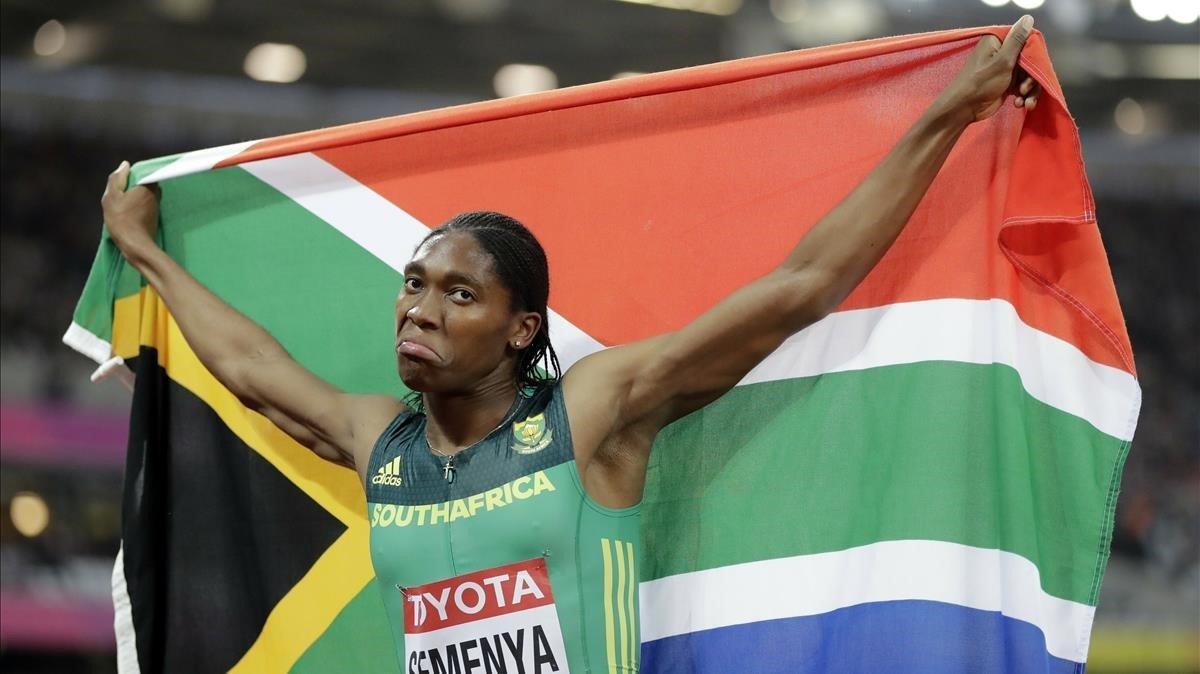El TAS exige que Semenya reduzca su testosterona para competir entre mujeres