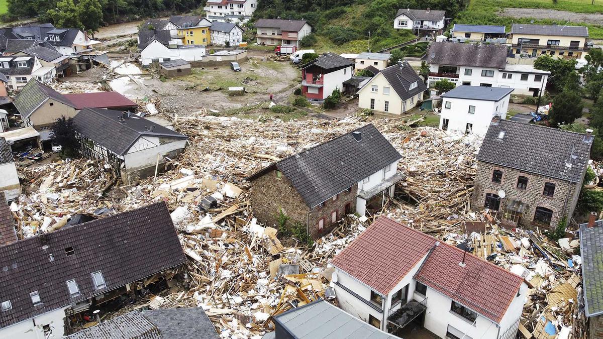 Almenys 67 morts per les inundacions a l'oest d'Alemanya