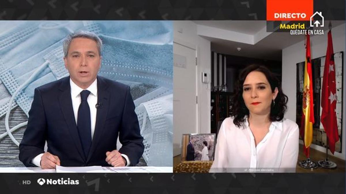 """Vicente Vallés sobre presentar el debate de las elecciones madrileñas: """"No tengo intención"""""""